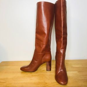 Tory Burch Devon 9M Tall Leather Knee High Boots